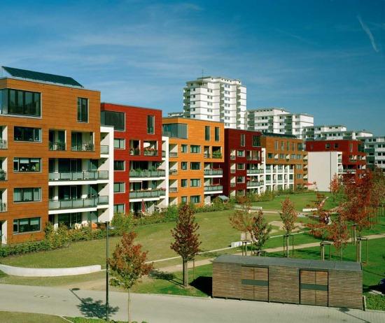 lakásfókusz trendteremtő lakóházak Németországban