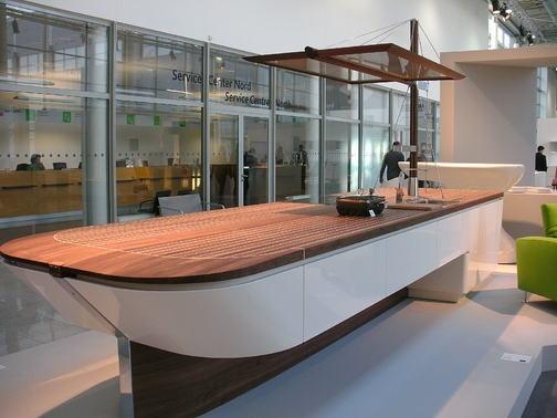 konyha, IMM, Living_Kitchen, érintőképernyők, főzősziget