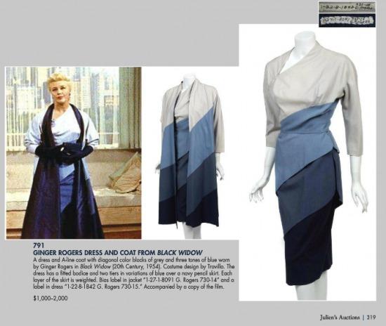 A Travilla tervezte A-vonalú kabát és a ruha az aukció egyik sikerdarabja  lehet 5a5b950bc1