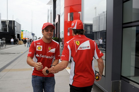 Felipe Massa és Fernando Alonso
