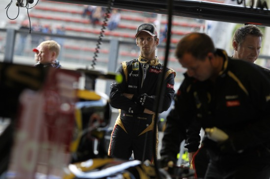 Romain Grosjean / Lotus