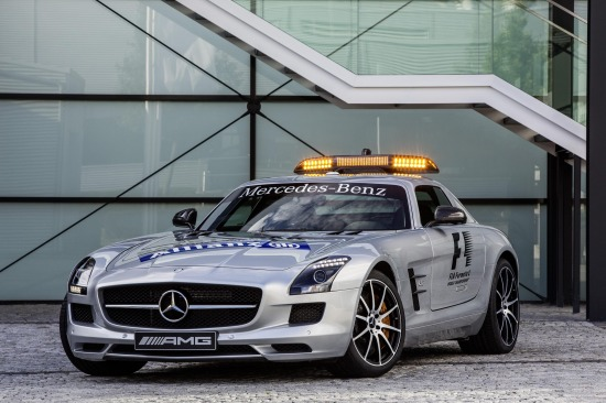 Mercedes SLS AMG GT Safety Car