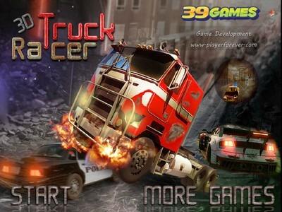 3D kamionos