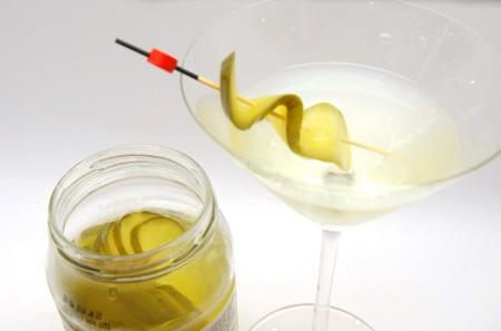 gin receptúra pickle martini vermut uborka martini