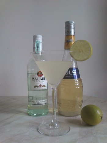 vanilla daiquiri receptúra bacardi bols rum