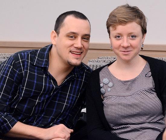 Bercsényi Péter és Spiegl Anna