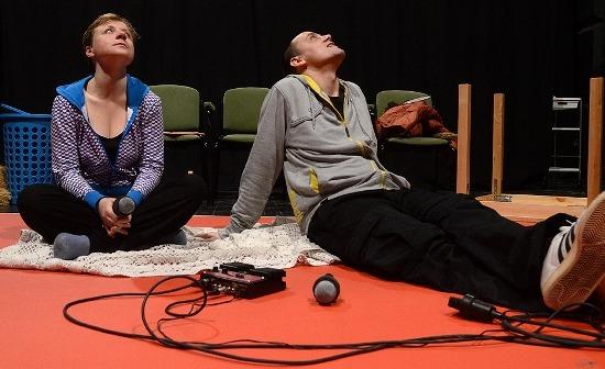 Bercsényi Péter és Spiegl Anna (fotó: Éder Vera)
