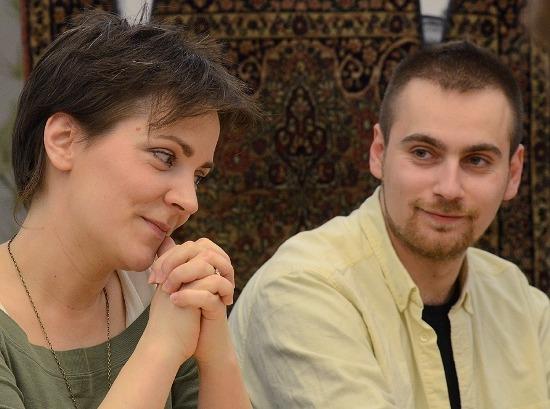 Csató Kata és Markó Róbert (fotó: Éder Vera)