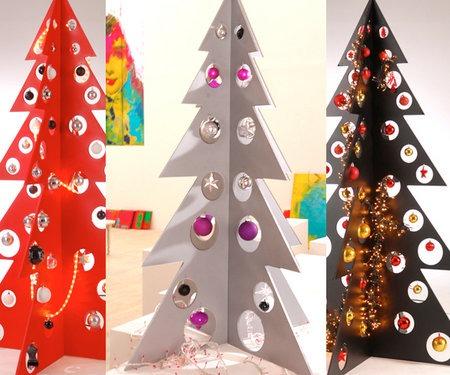 Plexi karácsonyfa