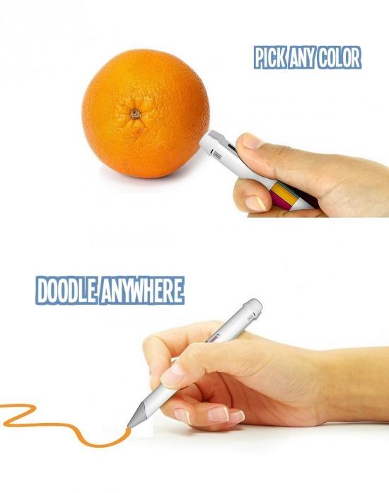 16 millió színnel író toll