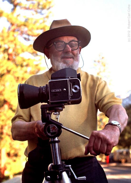 Aukción a fotótörténet: Ansel Adams fényképezőgépe