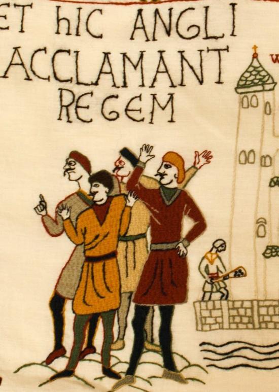 Alderney szigetének lakói befejezték a Bayeuxi falikárpitot
