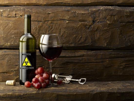 Vigyázat! Nyomokban szőlőt tartalmaz(hat)!