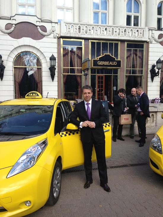 Budapest Taxi sajtótájékoztató