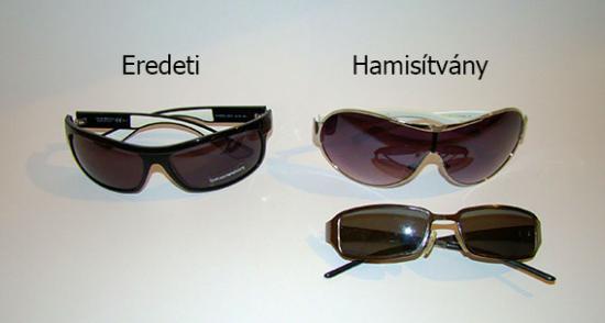 Hamis Armani napszemüvegek