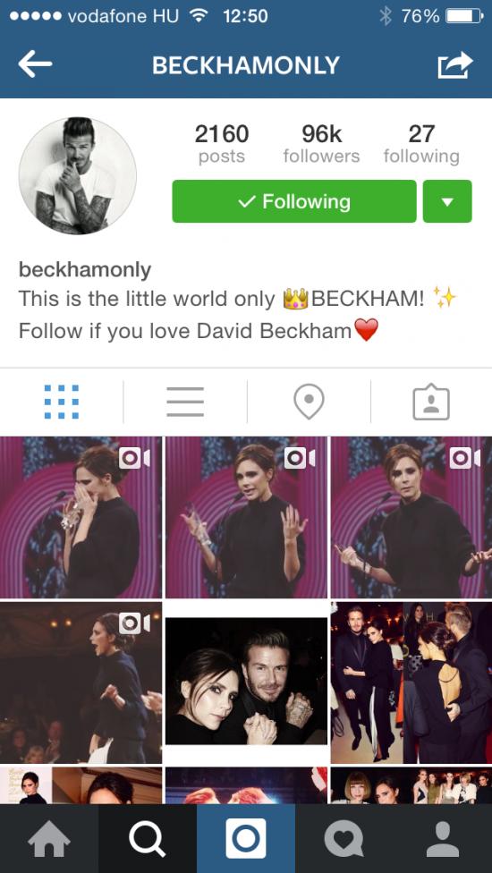 Beckham only