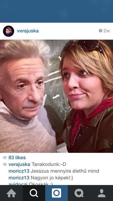 Tóth Vera és Einstein