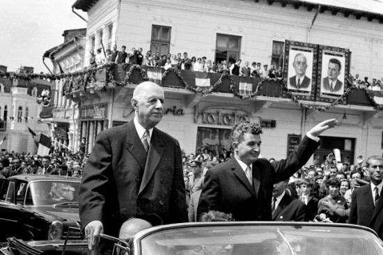de Gaulle és Ceacucescu