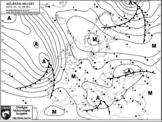 meteorológiai térkép Hihetünk a barométernek?   meteo meteorológiai térkép