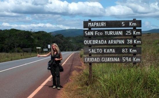 A Gran Sabanan a stoppolas az egyetlen megoldas