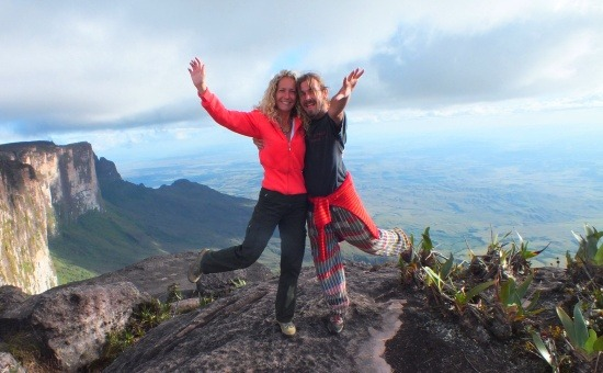 A Roraima legmagasabb pontján