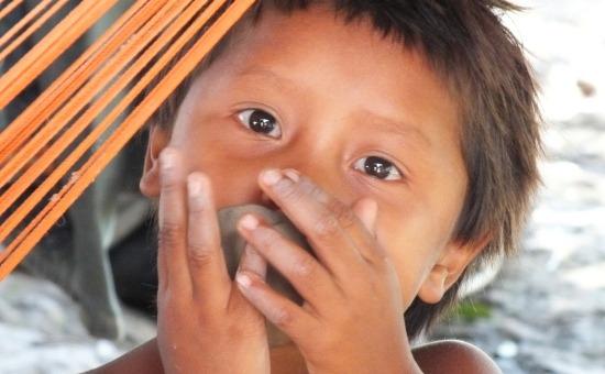 Warao kislány