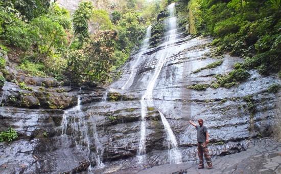 A 45 méter magas Salto Paila