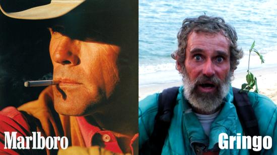 Egy és ugyanaz az ember, 30 év különbséggel