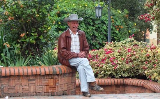 A déli falvakban mindig mosolyognak az emberek (Canaguá)