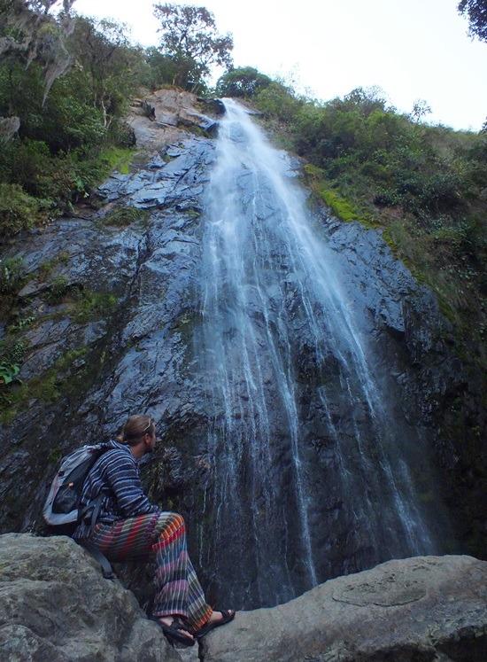 Az India Carú-vízesés legendája szebb, mint maga a zuhatag