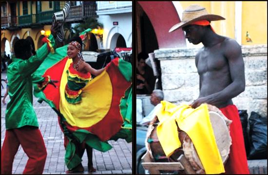 Cartagena a buli városa - ezért jön sok turista ide