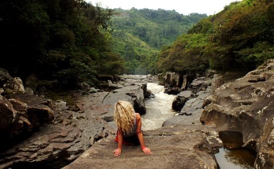 Az El Estrechónál a Rio Magdalena állítólag 60 méter mély