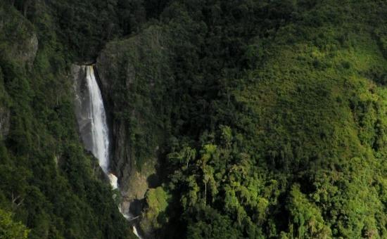 A 400 méter magas Bordones-zuhatag