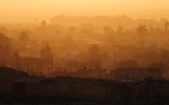 Nazca, ahogy most néz ki - naplementekor