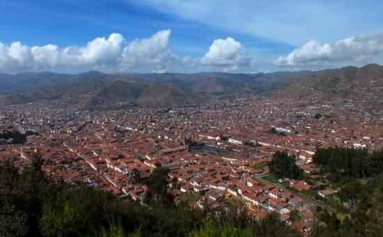 Cuzco látképe