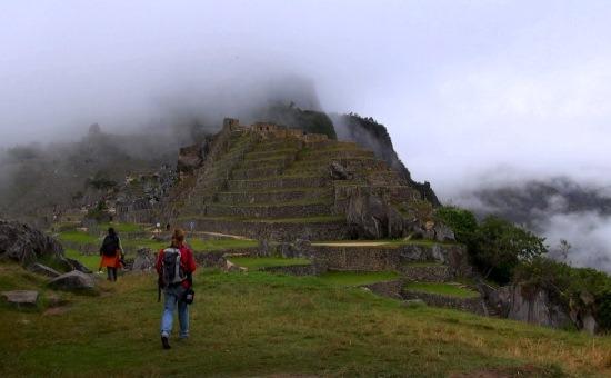 Machu Picchu szíve a hajnali ködben