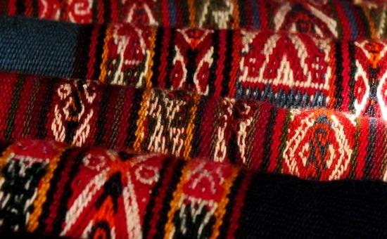A chincherói szőttesek szimbolikája összetett és misztikus