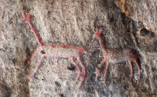 Ha nem lennének perui rajztehetségek, észre se vettük volna az ősi falfirkákat