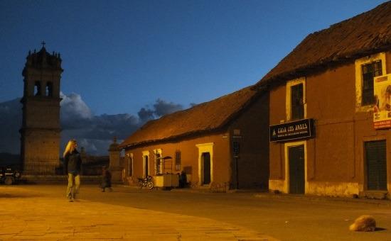 Lampa városkája éjszaka a legszebb