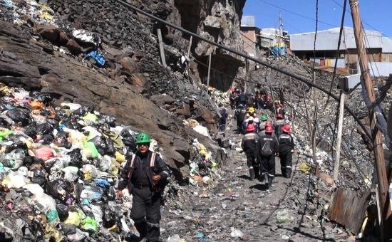 Rinconada könnyen nyerné el a Föld legszemetesebb városa címet