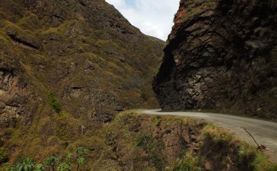 Putina Punco és San Juan között fut Peru legszebb útja