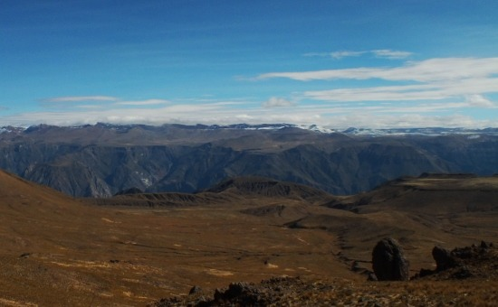 Így néz ki a Cotahausi-kanyon 4500 méter magasról