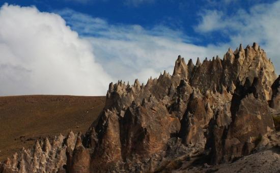 A Huito kőerdő túlvilági látvány 4000 méter magasan