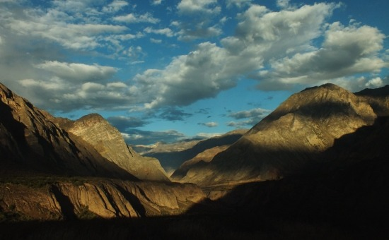 A Cotahuasi hajnalban a legszebb