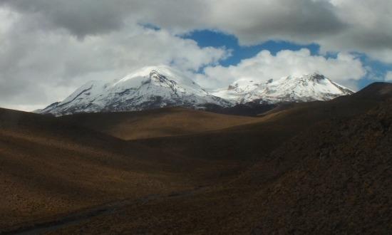A Coropuna 6425 méteres csúcsa