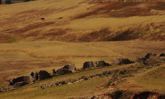 Huaca romjai majdnem igézőek, de mégsem azok