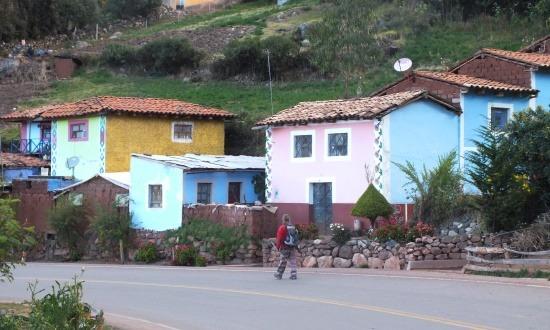 Utcakép Cachí Altában