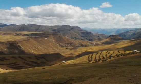 Gyönyörű az út Ayacucho felé