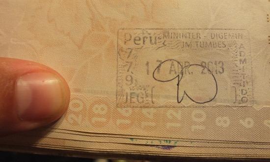 Peru útlevél