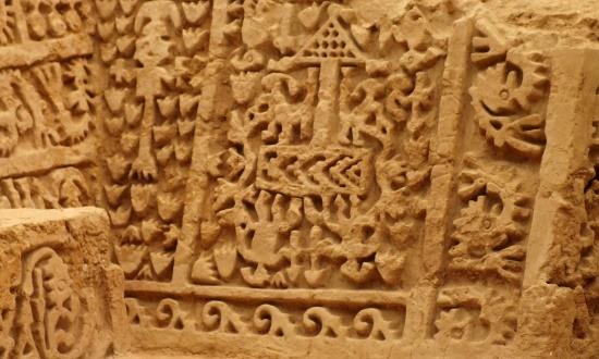 A legszebb chimú falfaragásokat nem Chan Chanban, hanem Túcume piramisain találja az ember
